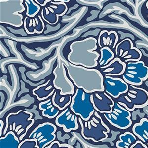 Liberty Hesketh House Collection in Blue Dianthus Dreams Fabric 0.5m