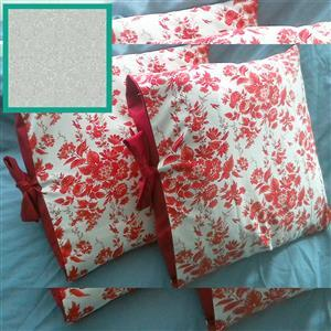 Helen Newton's William Morris Mineral Duo Tied Cushion Kit: Instructions & Fabric (1.5m)