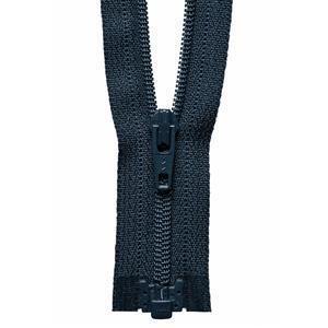 Navy Open End Zip 36cm