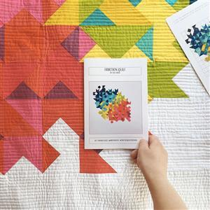 Fraction Quilt pattern by Lou Orth