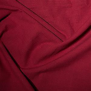 Linen-Look Cotton in Wine Fabric 0.5m
