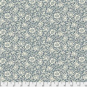 William Morris Orkney Mallow Blue Fabric 0.5m