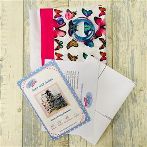 Living in Loveliness Sewn with Scraps Issue 1: Pretty Presents, Butterfly
