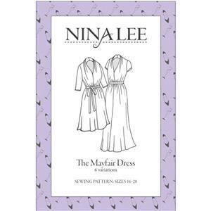 Nina Lee Mayfair Printed Sewing Pattern Sizes 16-28