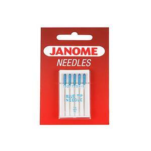 Janome Needles - Blue Tip Needle - UK Size 11 - Metric Size 75
