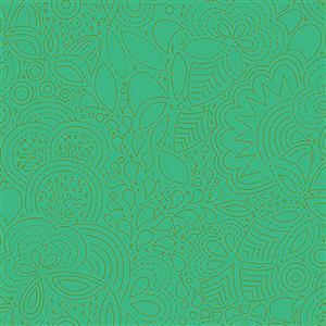 Alison Glass Sunprints Stitched Grasshopper 0.5m