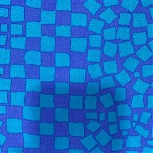 Kaffe Fassett Collective Chips in Aqua Fabric 0.5m