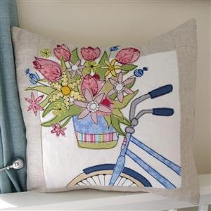 Helen Newton Enjoy The Ride Cushion Kit: Instructions, Fabric Panel, Fabric (0.5m) & FQ