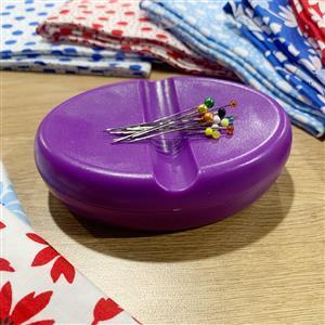 Magnetic Pin & Needle Dish Purple