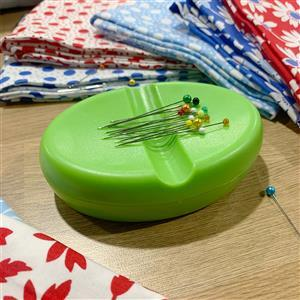 Early Bird Special - Magnetic Pin & Needle Dish Green. Special Price
