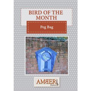 Amber Makes Birdhouse Peg Bag Instructions