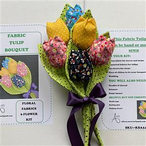 Allison Maryon's Floral Fabric Tulip Kits