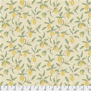 William Morris Orkney Lemon Tree Linen Fabric 0.5m
