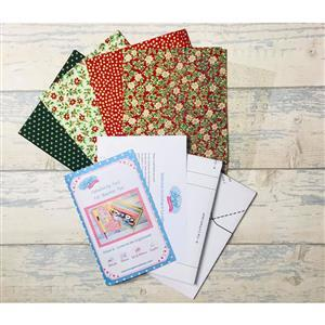 Living in Loveliness Fabulously Fast Fat Quarter Fun Issue 6 Christmas Inspired