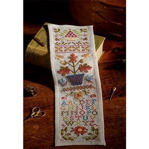 The Cross Stitch Guild Colonial Williamsburg Band Sampler