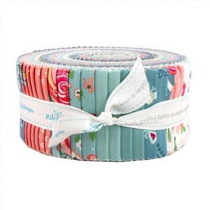 Riley Blake Poppy & Posey Design Roll Pack of 40 Pieces