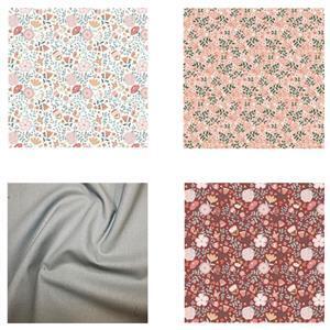 Poppie Cotton FQ Pack (4pcs)