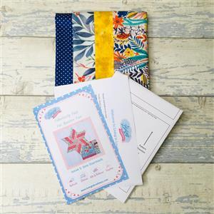 Living in Loveliness Fabulously Fast Fat Quarter Fun - Issue 5 - Sew Starstruck - Brights