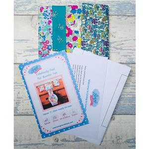 Living in Loveliness Fabuously Fast Fat Quarter Fun - Issue 7 - Liberty