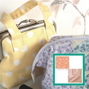 Moda Balboa Paisley Retro Mini Purse Kit: Instructions & FQ's (2pcs)