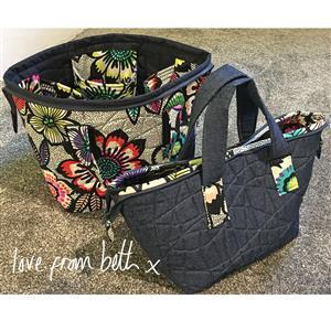 Love from Beth Open Pocket Bag Sewing Pattern