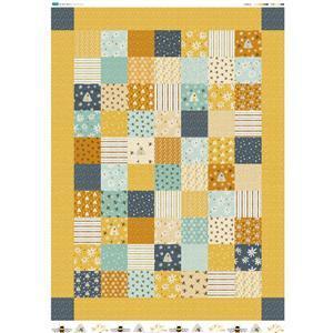 Summer Quilt Fabric Panel 140x202cm