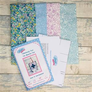 Living in Loveliness Fabulously Fast Fat Quarter Fun Issue 12 Sew Essential Liberty Spring