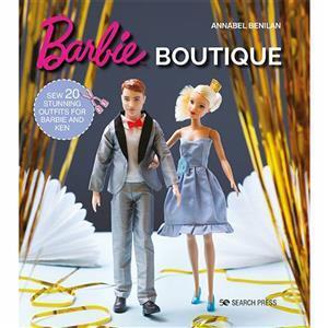 Barbie Boutique Book