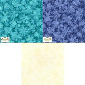Cream Twirling & A-Swirling Quilt Fabric Bundle (4.5m). Save Over £5