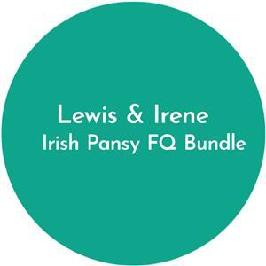 Lewis & Irene Irish Pansy FQ Bundle: 12 pieces