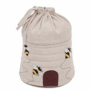 Bee Hive Drawstring Bag