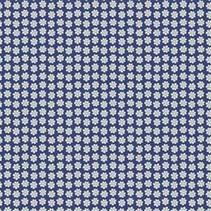 Liberty Carnaby Collection Daisy Dot Blue Fabric 0.5m