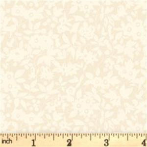 Liberty Cottage Garden Collection Yellow Daisy Shadow Fabric 0.5m