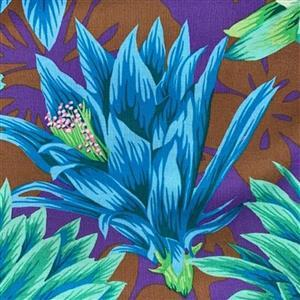 Kaffe Fassett Collective in Green Floral Fabric 0.5m