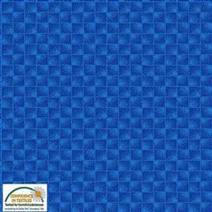 Quilters Co-Ordinates Checkers Blue Pre-cut Fabric Bundle 2.5m