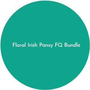 Floral Irish Pansy FQ Bundle 12 pieces