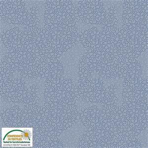 Hannah Basic Dots On Blue Fabric 0.5m