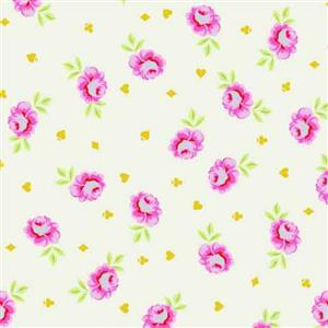 Tula Pink Curiouser And Curiouser in Big Buds Wonder Extra Wide Backing Fabric 0.5m (274cm wide)