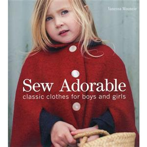 Sew Adorable Book by Vanessa Mooncie