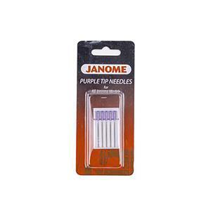 Janome Purple Tipped Needles Size 14/90 (Pack of 5)