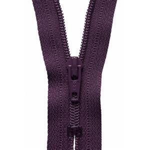 Damson Nylon Dress and Skirt Zip 20cm
