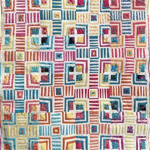 Love From Beth Cabin Crosses Quilt Sewing Pattern