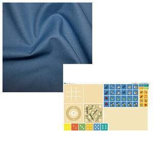 Wendy Orlando's Blue Bugs in a Bag Kit - Instructions, Panel & Fabric (0.5m)