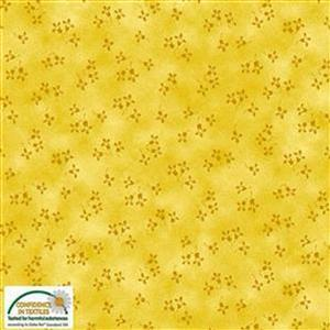 Quilters Co-Ordinates Yellow Flowers Pre-cut Fabric Bundle 2.5m