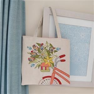 Helen Newton Enjoy The Ride Tote Bag Kit: Instructions, Fabric Panel, Fabric (1.5m)