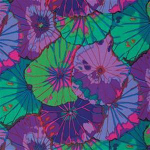 Kaffe Fassett Classics  Emperor Purple Petunias Fabric 0.5m