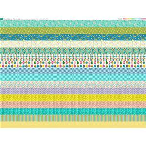 Easter Collection 16 Strips Fabric Panel (140x107cm)