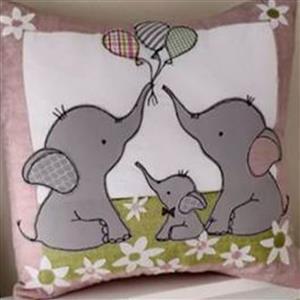 Helen Newton's Elephant Nursery Cushion Instructions