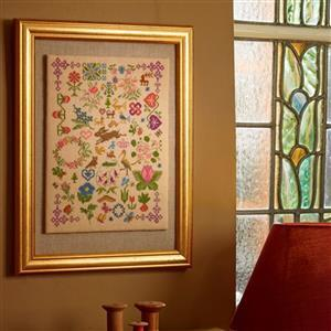 The Cross Stitch Guild Bugs and Beasts on Aida