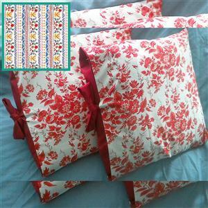 Helen Newton's Michael Miller La Vida Loca Duo Tied Cushion Kit: Instructions & Fabric (1.5m)